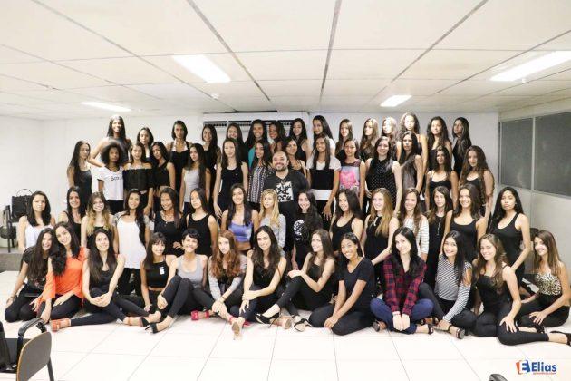 As 60 meninas selecionadas para 1ª etapa do concurso Tráfego Look 2016.