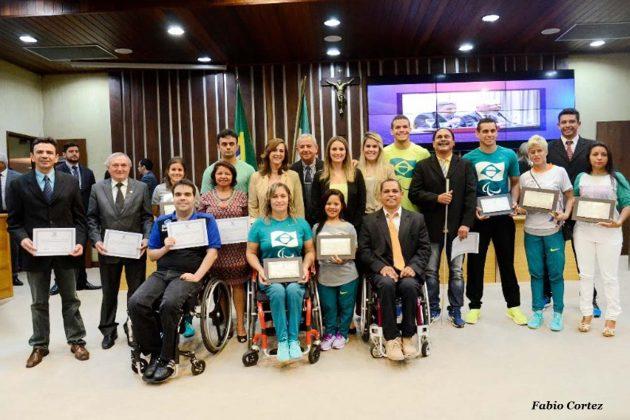 Assembleia homenageia potiguares que participaram das Paralimpíadas.