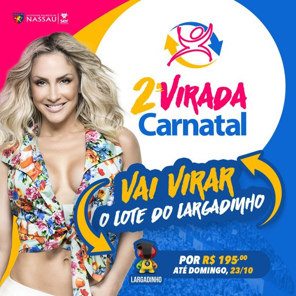Carnatal 2016 – tem promoção -  Bloco Largadinho.