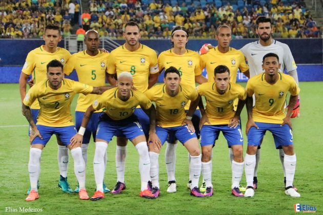 Goleada brasileira na Arena das Dunas foi construída pelo jogador Neymar.