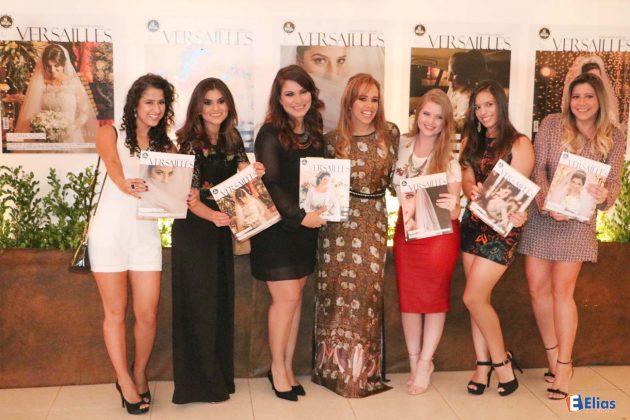 Elas foram capas da Revista Versailles.