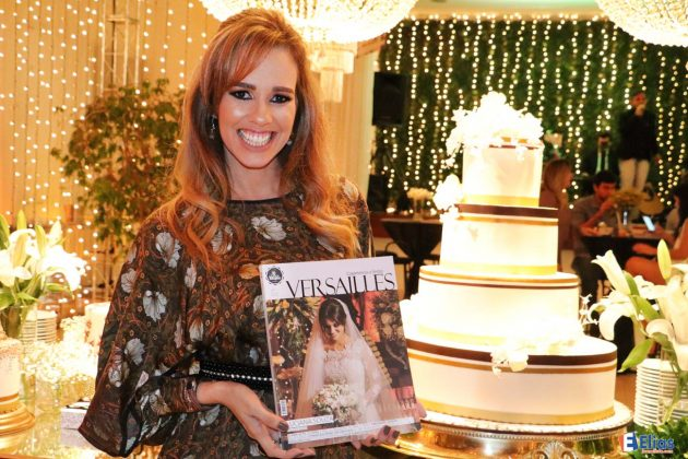 A empresária Larissa Borges comemora 10 anos da sua Revista Versailles.