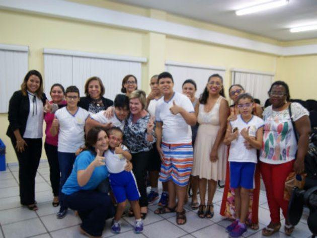 Escola da Assembleia recebe crianças especiais na 4ª edição do projeto Convite à Cultura. (Foto: Eduardo Maia).