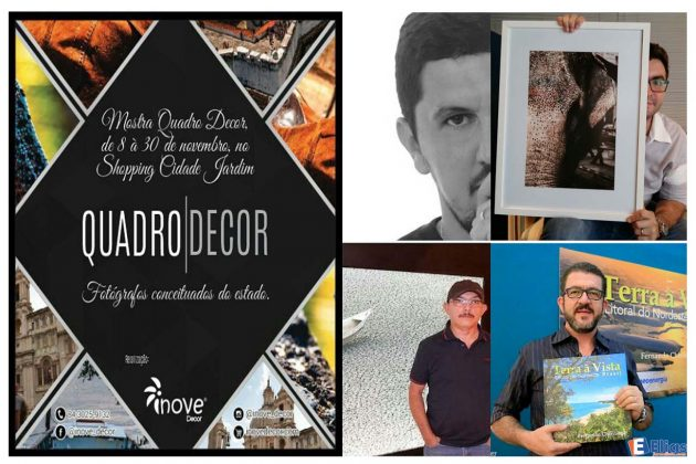 Exposição QUADRO|DECOR reúne conceituados fotógrafos no Shopping Cidade Jardim.