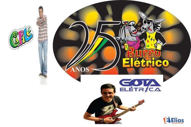 Burro Elétrico 2016 terá Capilé e Gota Elétrica como grandes atrações.