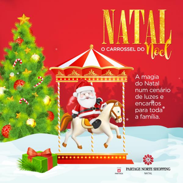 "Partage Norte Shopping recebe ""Ônibus do Noel""."