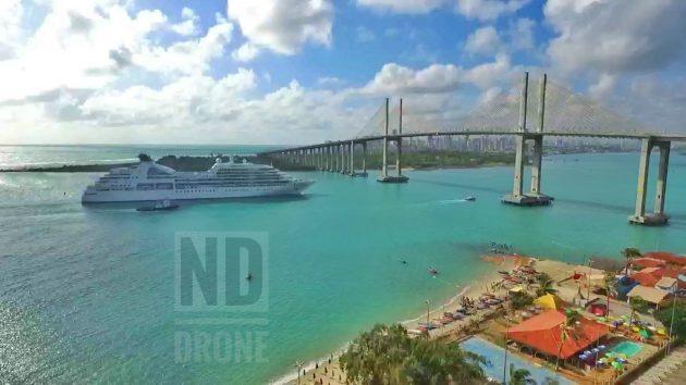 Imagens noturas de Natal. Faça o seu orçamento - ND Drone Contato: (84)99425-8968.