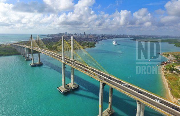 Imagens em alta qualidade da Ponte Newton Navarro.