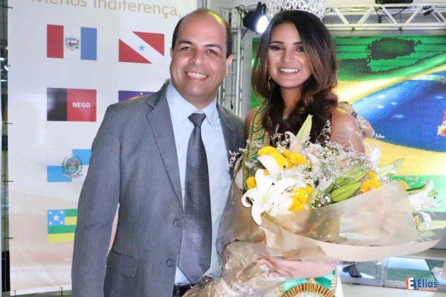 A representante da cidade de São Paulo, Hellem Jotce, foi a vencedora do concurso Miss Brasil das Américas 2016.