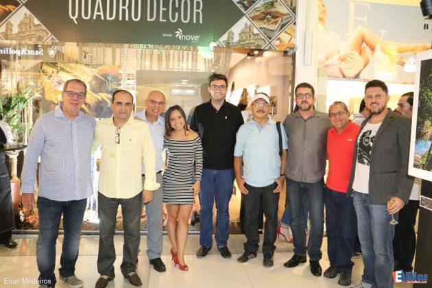 Lançamento da Exposição QUADRO|DECOR no Shopping Cidade Jardim.