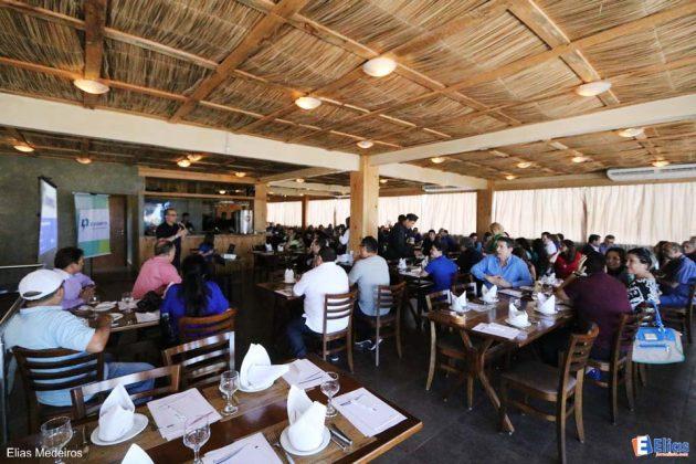 Cosern comemora 55 de atividades com almoço de confraternização.