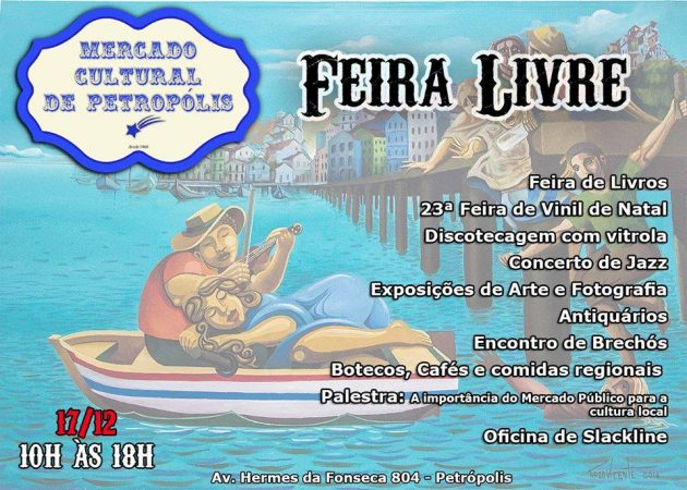 Mercado Cultural de Petrópolis promove 1ª edição de Feira Livre