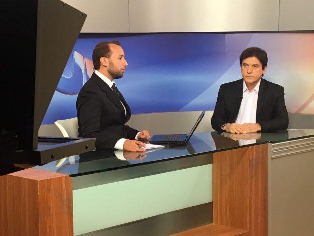 Governador faz balanço de gestão em entrevista à TV Ponta Negra. (Foto: Ivanízio Ramos).