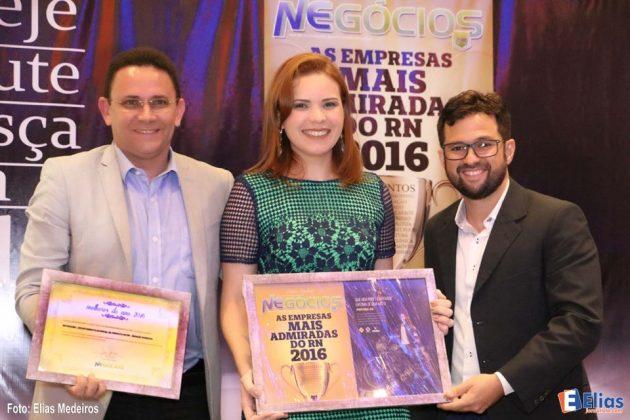 Revista Negócios premia empresas mais admiradas do RN 2016