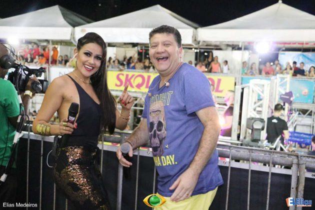 """Betinho e a jornalista Juliana Celli comandam o """"De Olho na Foilia"""""""