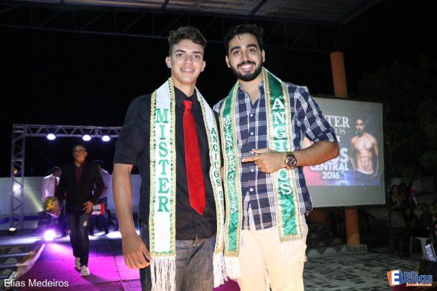 Junior Santos foi eleito Mister Angicos 2016.