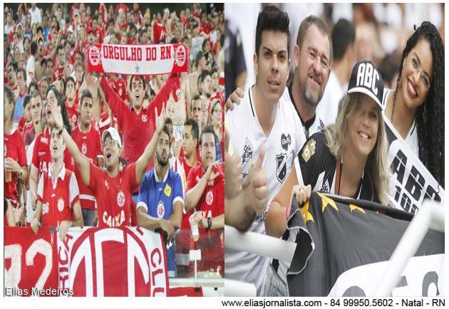 Os torcedores dos América e ABC viveram dias memoráveis na Arena das Dunas.