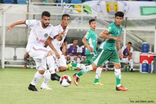 No segundo jogo da rodada dupla, o Alecrim empatou em 1 a 1 com o Assú.