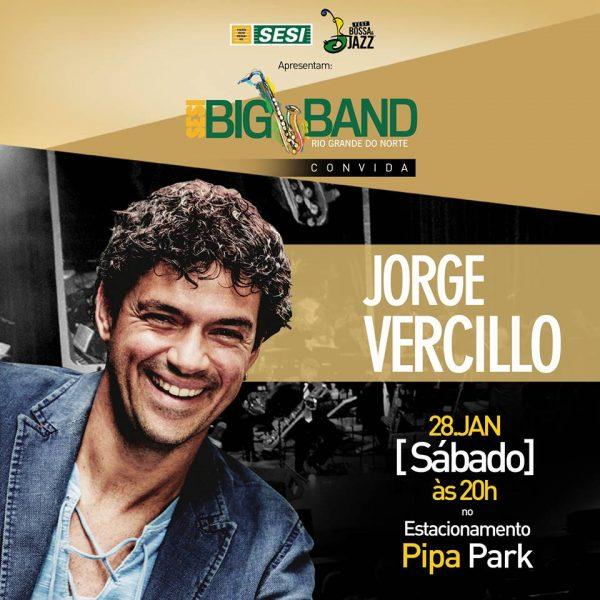 Show da SESI BIG BAND e Jorge Vercillo abre venda promocional de ingressos.