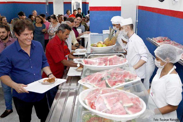 Governo inaugura restaurante popular na zona norte de Natal.