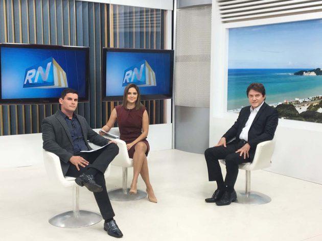 Governador Robinson explica medidas de controle em Alcaçuz