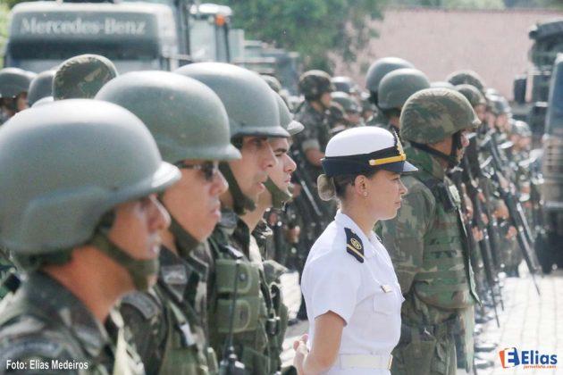 Forças Armadas realizam Apronto Operacional.