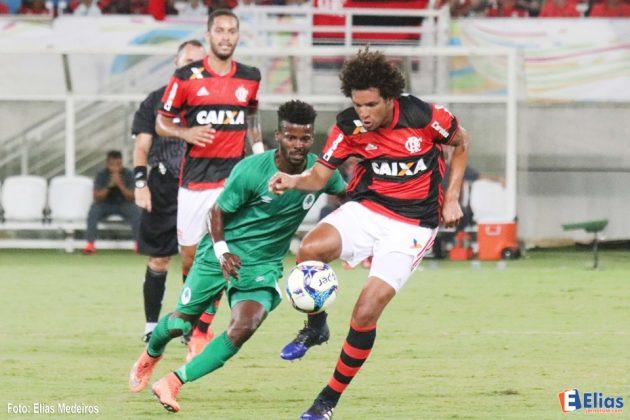Flamengo vence Boa Vista na estreia do Campeonato Carioca na Arena das Dunas