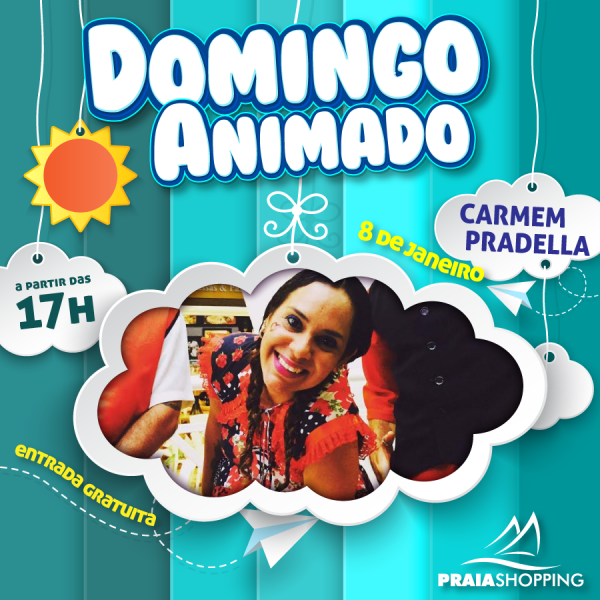 Carmen Pradella faz show dia 8 de janeiro.
