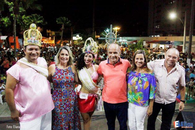 o prefeito Rosano Taveira espera manter um reinado de Momo tranquilo.