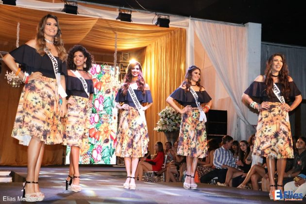 Top 5 - Miss Natal 2017.