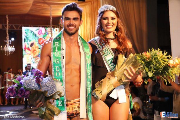 Miss Natal e Mister RN 2017, foram eleitos em noite de festa no Versailles Recepções.