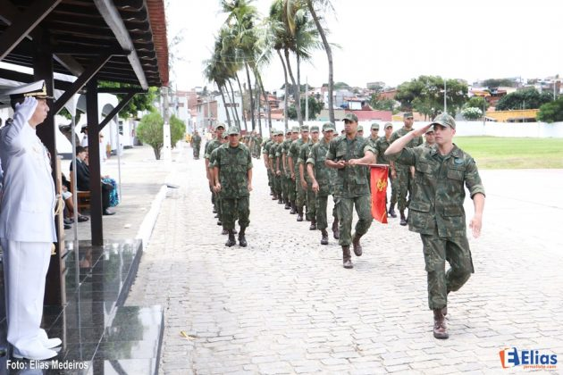 O Capitão-de-Fragata (FN) Fabiano da Silva Coutinho assumiu o comando do Grupamento de Fuzileiros Navais de Natal.