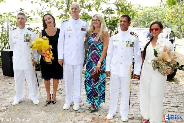 Comandante do 3° Distrito Naval, Vice-Almirante Renato Rodrigues de Aguiar Freire