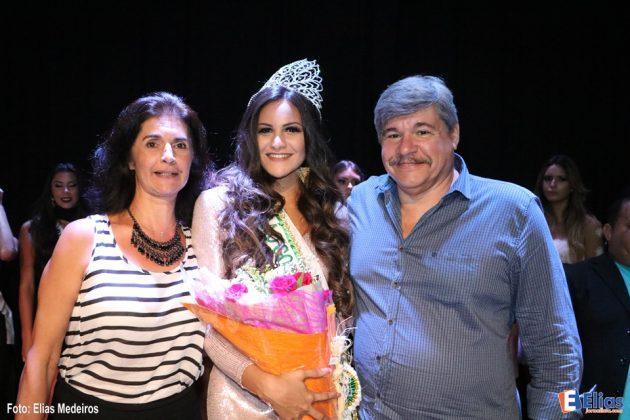 Os pais de Milena Balza prestigiaram o eventoi