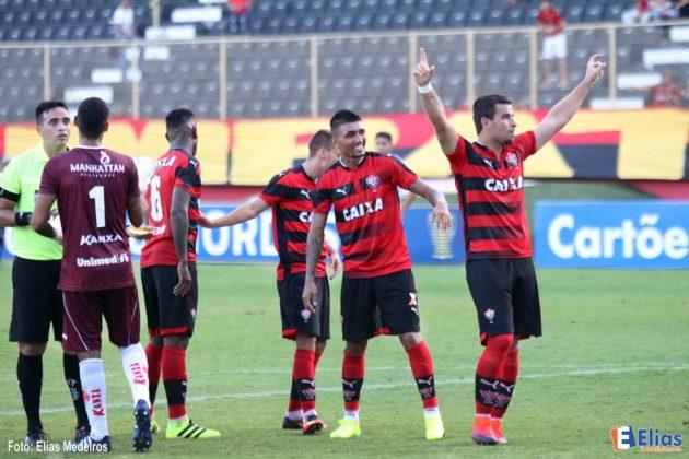 Vitória vence América-RN por 2 a 1 e assume liderança da Copa do Nordeste.