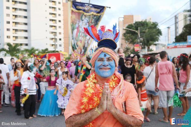O jornalista e ativista cultural Flávio Rezende é um dos fundadores do Bloco Cores de Krishna.