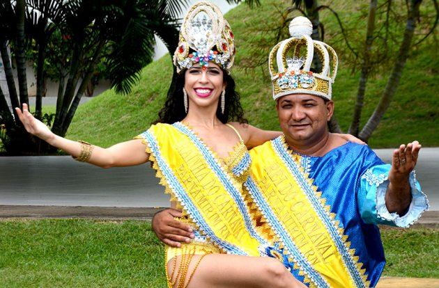 A Prefeitura de Parnamirim abre oficialmente o Carnaval de Parnamirim 2017 neste sábado, 25, durante entrega da chave ao Rei Momo e à Rainha do Carnaval. (Foto: Eliana Felix).