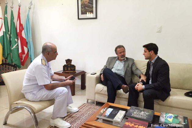 Rafael Motta pede apoio ao ministro da Defesa até que um novo presídio seja construído no RN.