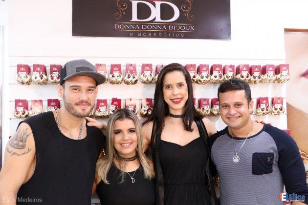 Mc Jack, Luizinho Nobre, Adrina Karla Maia (Proprietária Donna Donna Bijoux) e Luizinho Nobre.