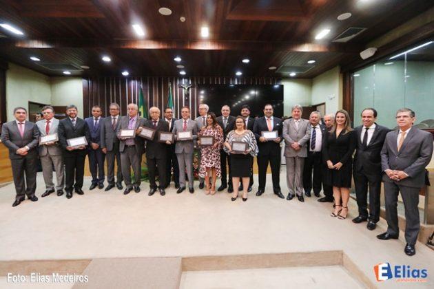 Assembleia Legislativa homenageia 50 anos da Justiça Federal no RN.