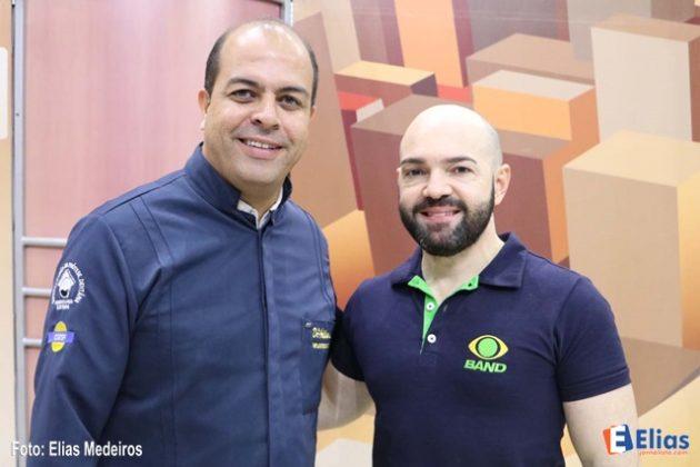 Dr. Adilson Lemos e Robson Carvalho.