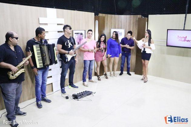 """Banda pernambucana """"Noda de Cajú."""