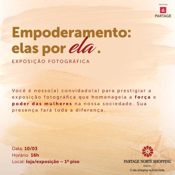 Exposição que homenageia a força da mulher acontece nesta sexta-feira (10).