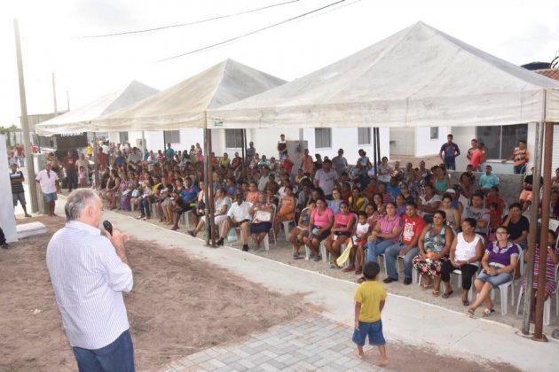 Prefeitura de São Gonçalo marca data de relocação da comunidade Padre João Maria. (Foto: Wendel Jeferson).