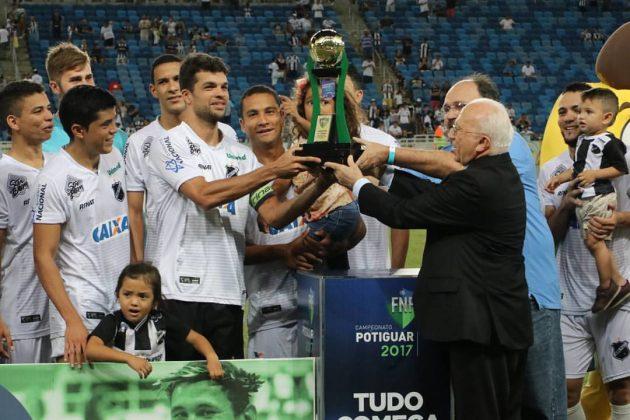 ABC vence por 2 a 1 o Potiguar e sagra-se campeão da Copa do RN .