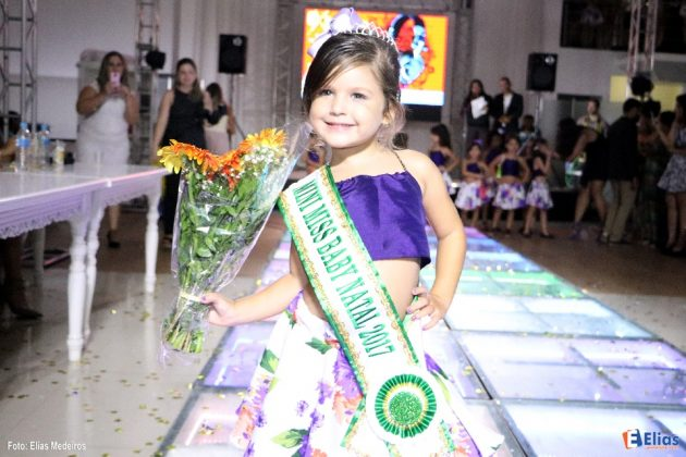Miss Infantil 2017 elege representantes em cinco categorias.