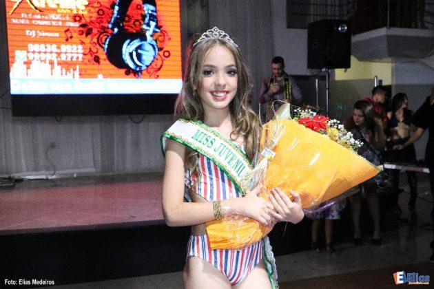Miss Juvenil 2017: Beatriz de Medeiros.