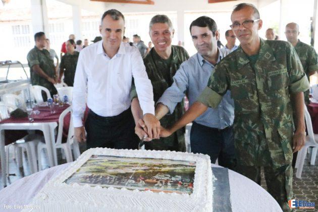 Grupamento de Fuzileiros Navais de Natal celebra Aniversário de fundação em solo potiguar.