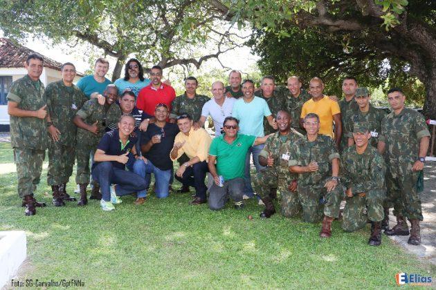 Fuzileiros Navais da reserva participam das comeorações