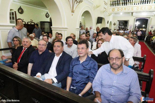 Presidente da Assembleia e deputados participam de missa do governador em São José de Mipibú